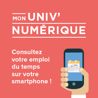 Emploi du temps sur votre smartphone - UPEC