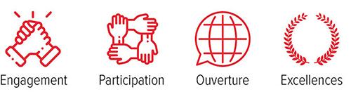 Engagement - Participation - Ouverture - Excellence
